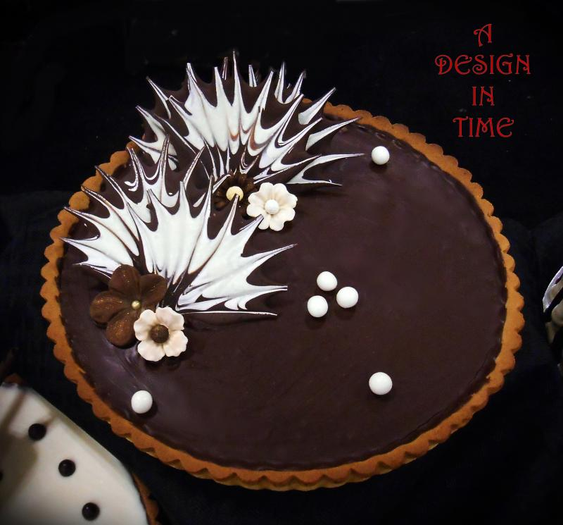 A DESIGN IN TIME - FRUIT AND GANACHE TARTS