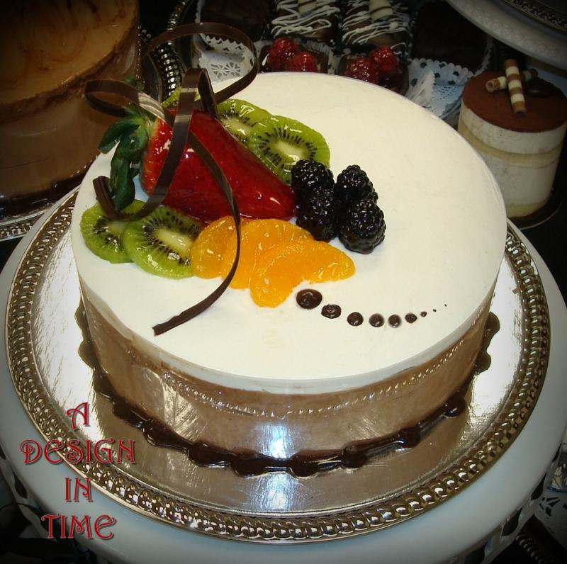 Cake With Fruit Topping : A DESIGN IN TIME - MOUSSE CAKES