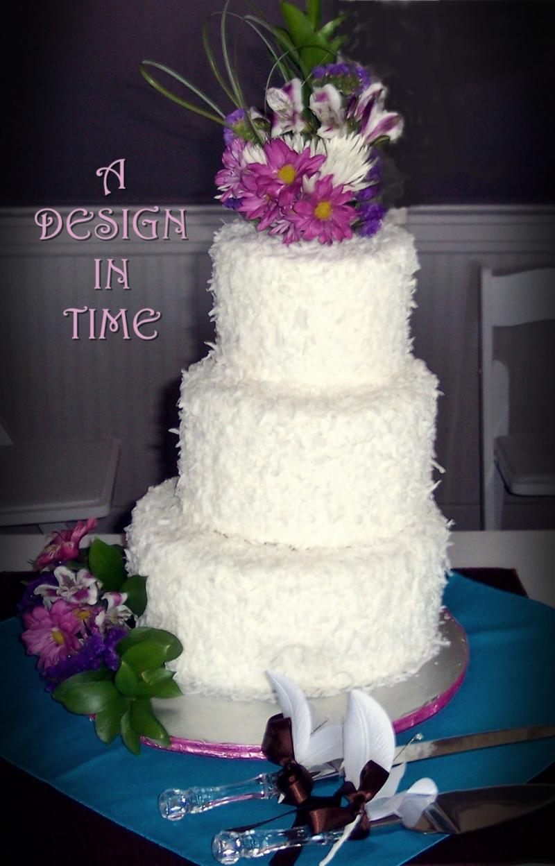 A DESIGN IN TIME - CLEAN AND SIMPLE WEDDING CAKES