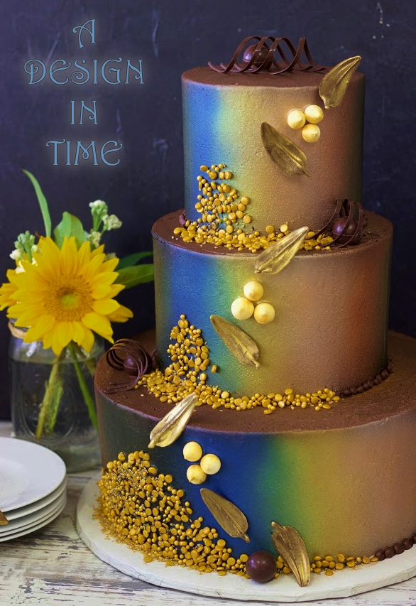 A DESIGN IN TIME - NON TRADITIONAL WEDDING CAKES