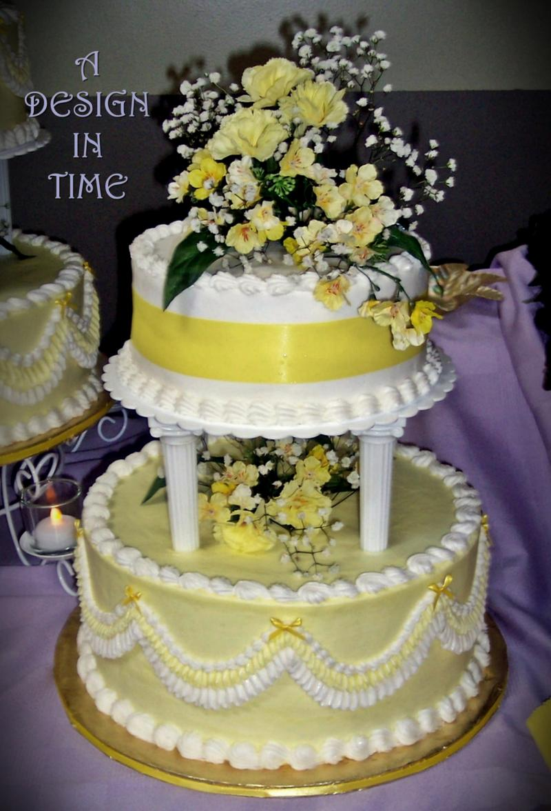 A DESIGN IN TIME - RETRO WEDDING CAKES