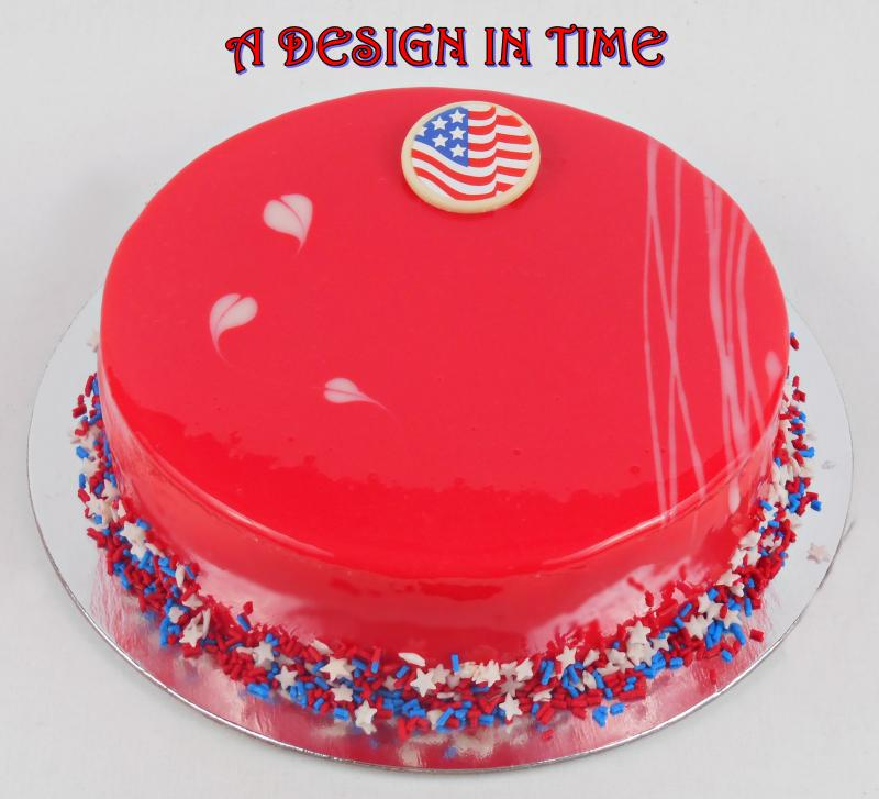 A Design In Time Mirror Cakes